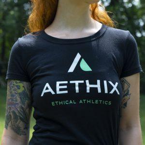 Aethix Fitness Logo Women's Tee