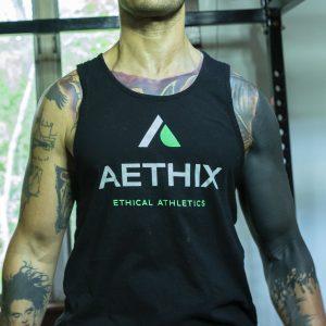 Aethix Fitness Men's Logo Tank